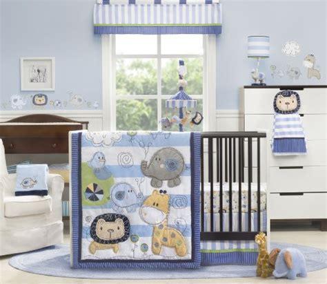 Kids Line 4 Piece Crib Bedding Set Jungle Doodle Baby Line Crib Bedding