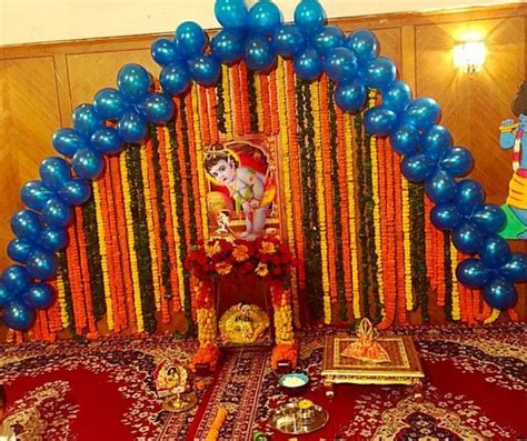 janmashtami decorations at home 17 best images about janmashtami decoration ideas on