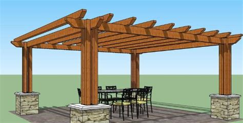 pergola plans home depot images