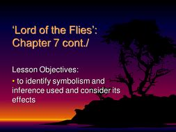 lord of the flies chapter notes ppt video online download lord of the flies sow by nikkibrayne teaching resources