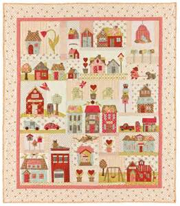 tiny town applique quilts patterns