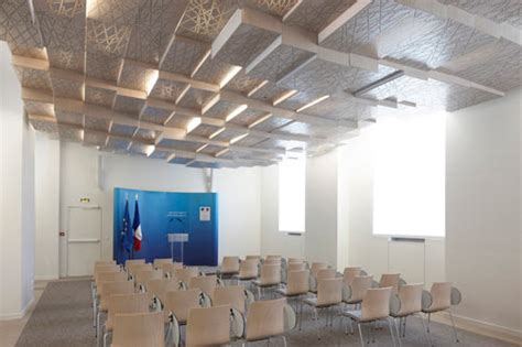 The Press Room by Press Conference Room By H2o Architectes Interior Design