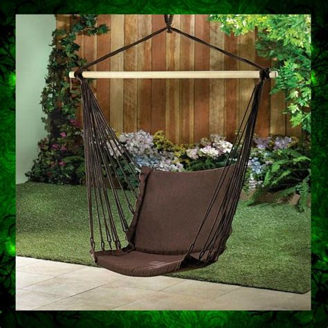 hammock swing chair swing chair hammock patio outdoor furniture padded cotton