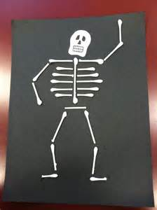 q tip skeleton craft template s q tip skeleton is better than yours teaching ideas