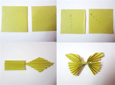 Make A Butterfly With Paper - how to do craft work with paper my
