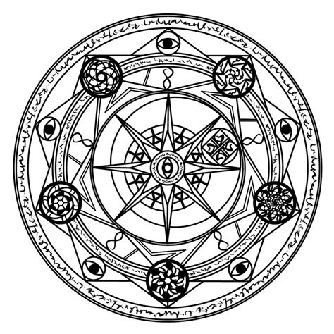 another magic circle by omni science on deviantart