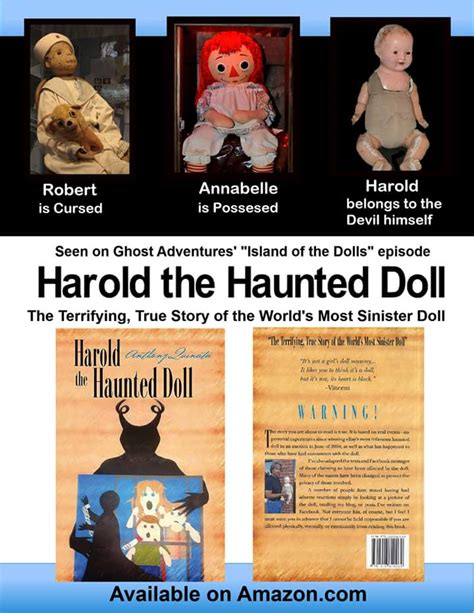 haunted doll harold harold the haunted doll the terrifying true story of a