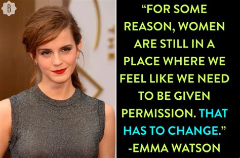 5 times emma watson proved she s a feminist hero during her international women s day q a bustle