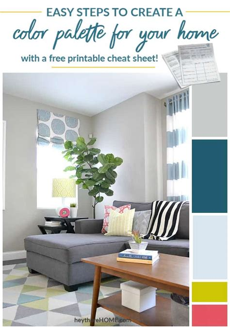home color palette how to create a color palette for your home