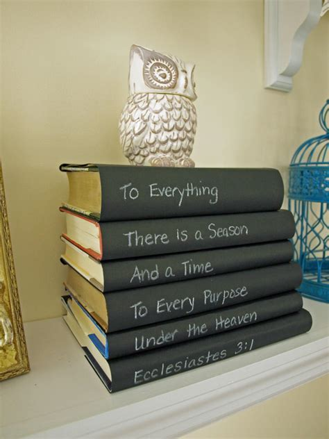 book stacking ideas chalkboard paint ideas and projects hgtv