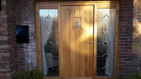 Oak Front Door And Frame Bartlett Joinery And Carpentry Oak Front Door And Frame