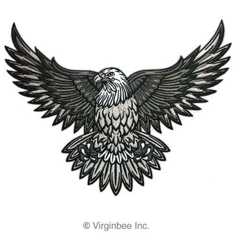 ani s american eagle i walk into the room in gold lookbook american bald eagle us national symbol biker jacket vest large embroidered patch http bikeraa