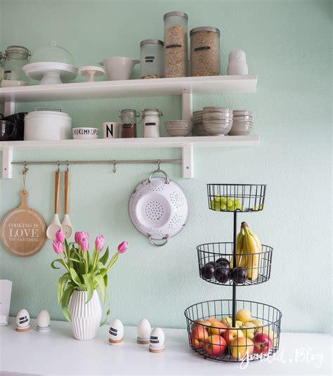 Ikea Küche Kinder by K 252 Chenregal K 252 Chendetails Und Mintfarbene Wand Macaron