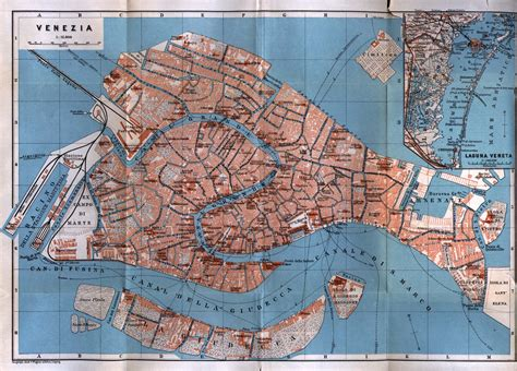 venice map italy maps perry casta 241 eda map collection ut library