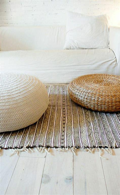 marokkanische einrichtung vintage teppiche gestalten ihre wohnung erstaunlich gut um