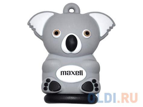 Usb Karakter Koala 16gb usb флешка maxell animal collection koala 16gb купить по лучшей цене в интернет магазине oldi