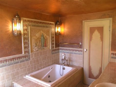 moroccan themed bathroom moroccan themed master bathroom eclectic bathroom