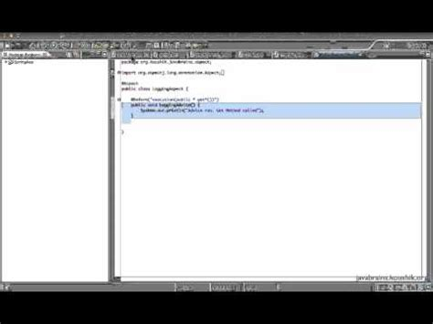 java pattern wildcard spring tutorial 28 pointcuts and wildcard expressions