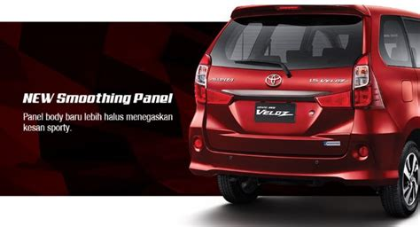 Lu Projector All New Avanza new 2015 toyota avanza debuts in indonesia with dual vvt i