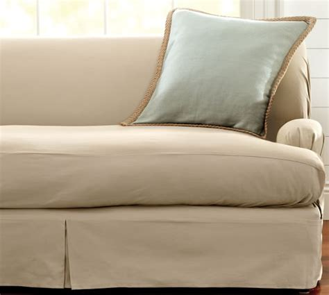 seat slipcovers separate seat t arm cushion fit slipcover twill