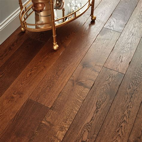 Distressed Wood Flooring Uk - chepstow distressed charcoal oak flooring woodpecker
