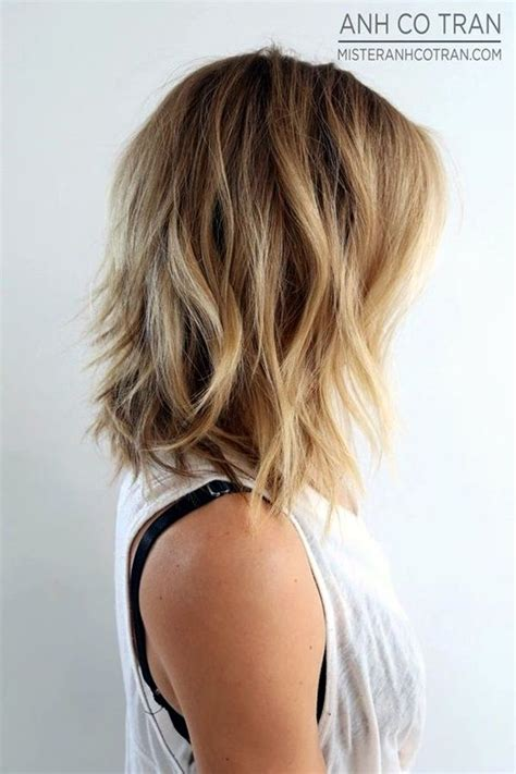 25 fantastic easy medium haircuts 2018 shoulder length