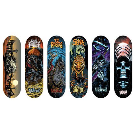 tech deck fingerboards spin master tech deck 96mm fingerboard 6 pack blind series