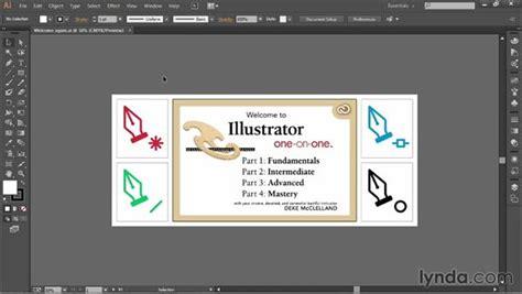 illustrator ui tutorial the basics of the illustrator interface