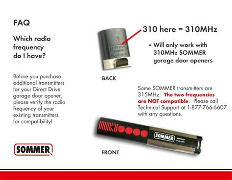 sommer garage door opener homelink wireless keypad for garage door opener