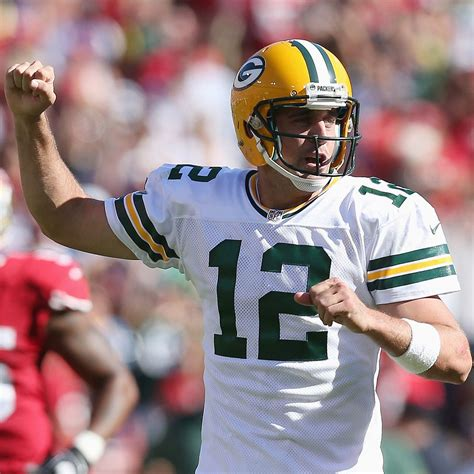 Clayton Aaron Rodgers Making Case To Be Among 10 Best Qbs | aaron rodgers of green bay packers making case to be among