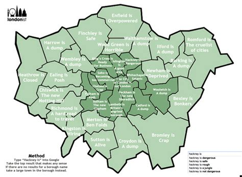sections of london google autocomplete guide to london reveals bromley is