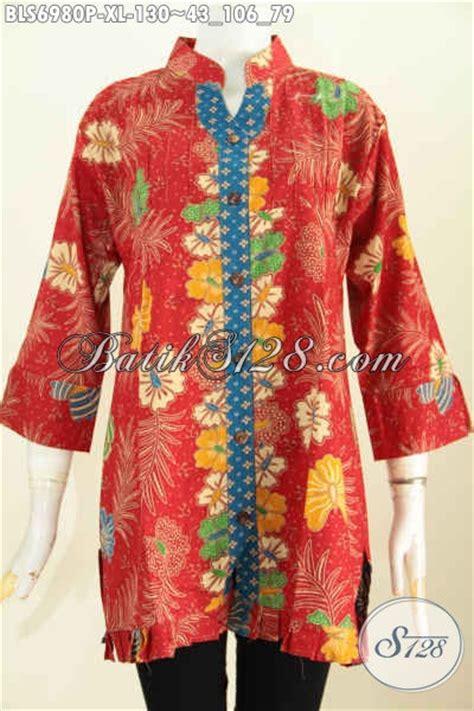 Atasan Keren model baju atasan wanita dari batik blus keren modis