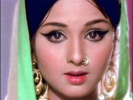 bollywood actress face shapes leena chandavarkar a bollywood actress in the 60s