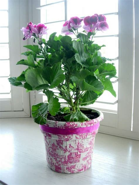 potted paper flower ideas how to transform and decorate a flower pot in my own style