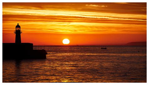 st ives harbour sunrise cornwall print