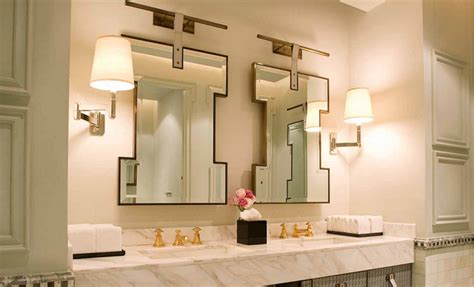 unique mirrors for bathroom to da loos gold faucets giving your bathroom the midas