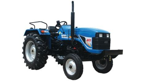 ace   ng tractor price mileage specs   hp tractors