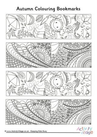 school doodle colouring bookmarks doodle colouring bookmarks for winter fall school and