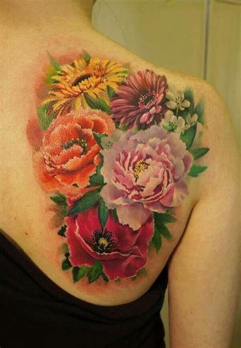 sunflower and rose tattoo 50 vibrant sunflower designs meanings