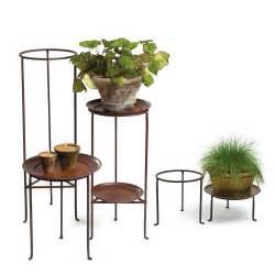 iron plant stands 12 quot diameter co de fiori