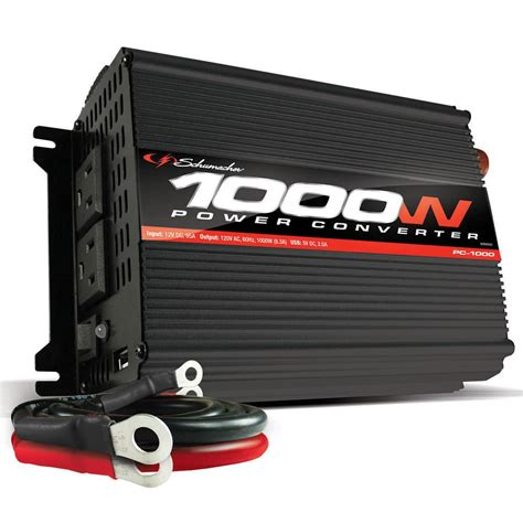 Power Inverter 1000 Watt 1000 watt inverter schumacher electric pc 1000