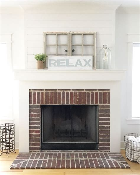 shiplap over brick shiplap over brick fireplace pictures to pin on pinterest