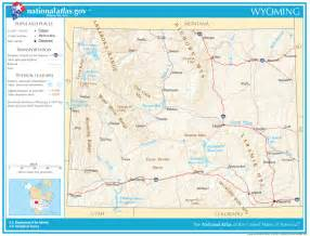 road map state wyoming state maps interactive wyoming state road maps