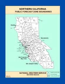 maps southern california zone forecast boundaries