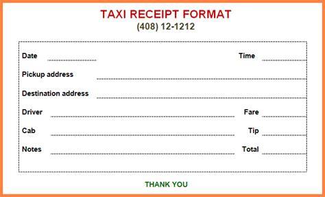 cab receipt template word 4 taxi bill format in word letter bills