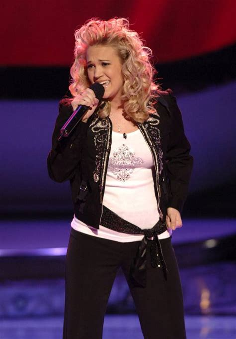 carrie underwood early songs it s been 10 years since carrie underwood won american
