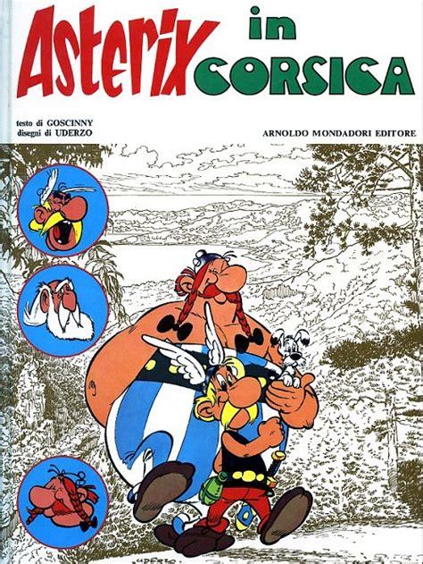 Asterix Asterix In Corsica ast 233 rix en italien 20 asterix in corsica