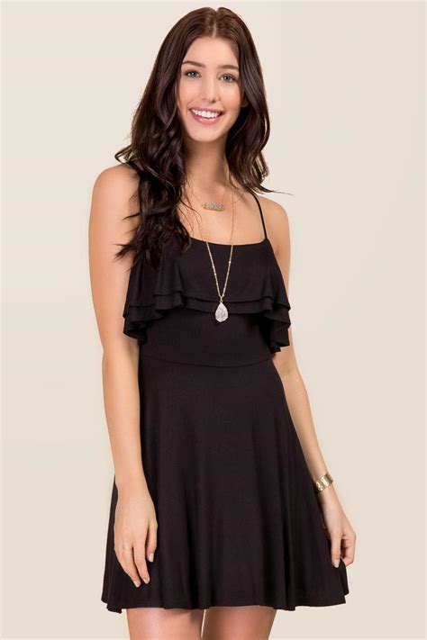 Alyla Dress layla ruffle skater dress s