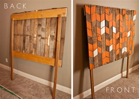 how to make a pallet headboard make a pallet headboard for less than 15 uncharted visions