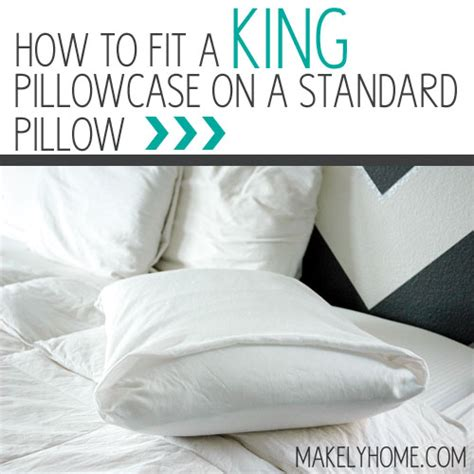 How Much Is A King Size Pillow Top Mattress how to fit a king pillowcase onto a standard sized pillow